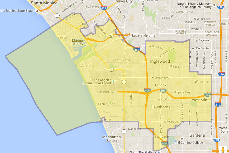 Ca Embly District Map on