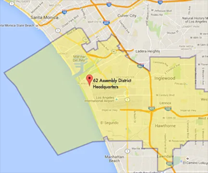 Interactive Map of 62nd Assembly District
